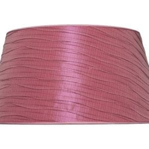 Lampenkap short drum roze